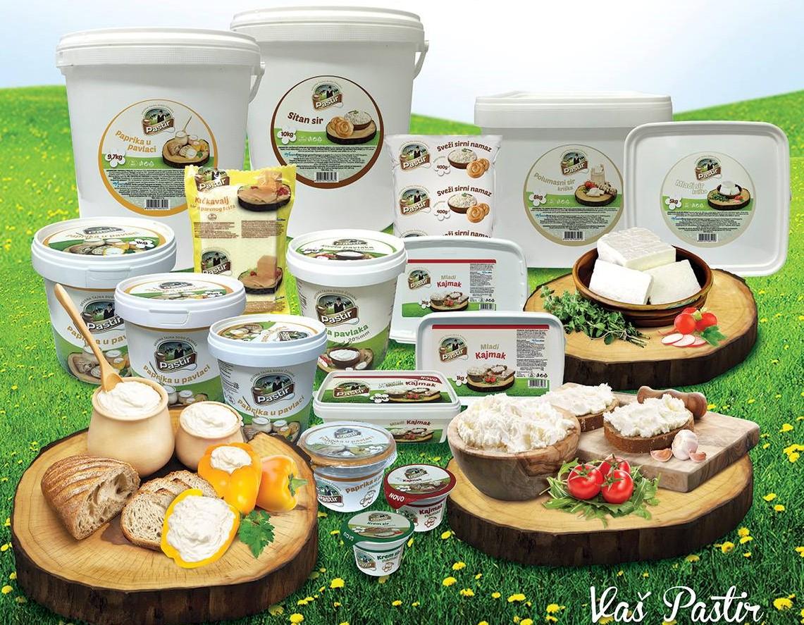 Pastir mlečni proizvodi